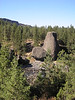 This is a photo of a Basalt Lava Collumn called the Bowl and Pitcher. It is in Riverside State Park near Spokane.